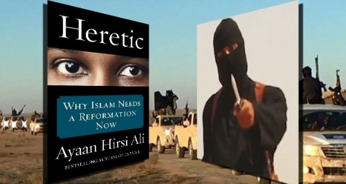 What do Ayaan Hirsi Ali and ISIS have in common?
